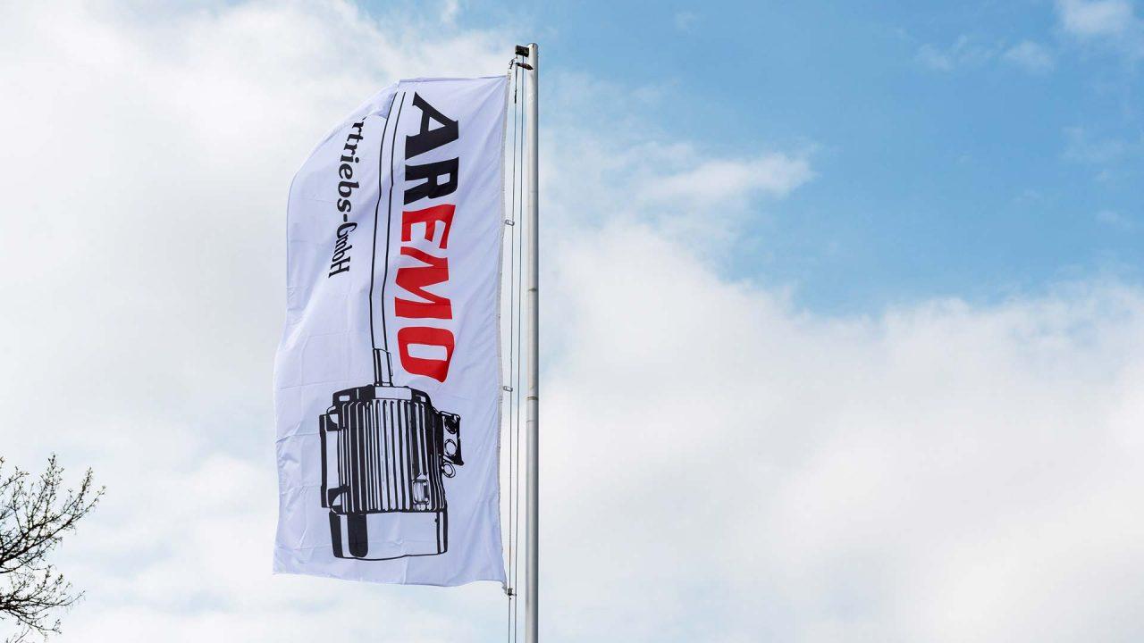 AREMO Motoren - Flagge